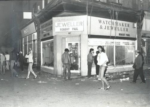 Ταραχές στο Moss Side το 1981