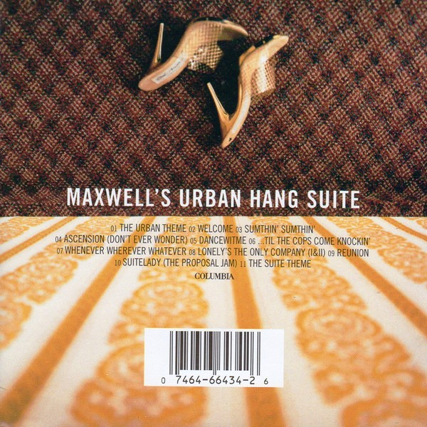 Maxwell - Urban Hang Suite