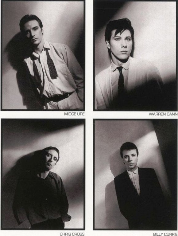 Ultravox Back Cover