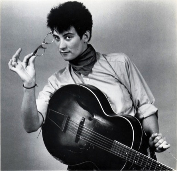 k.d. lang with guitar