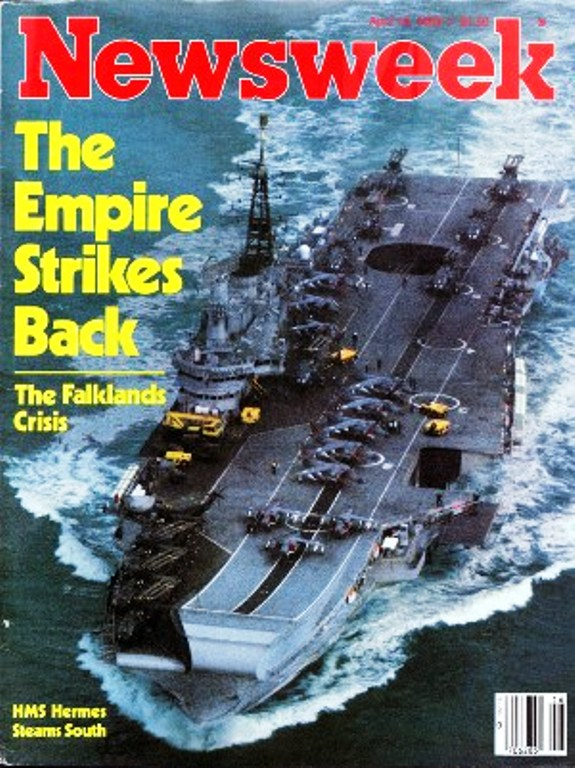 Newsweek Falklands